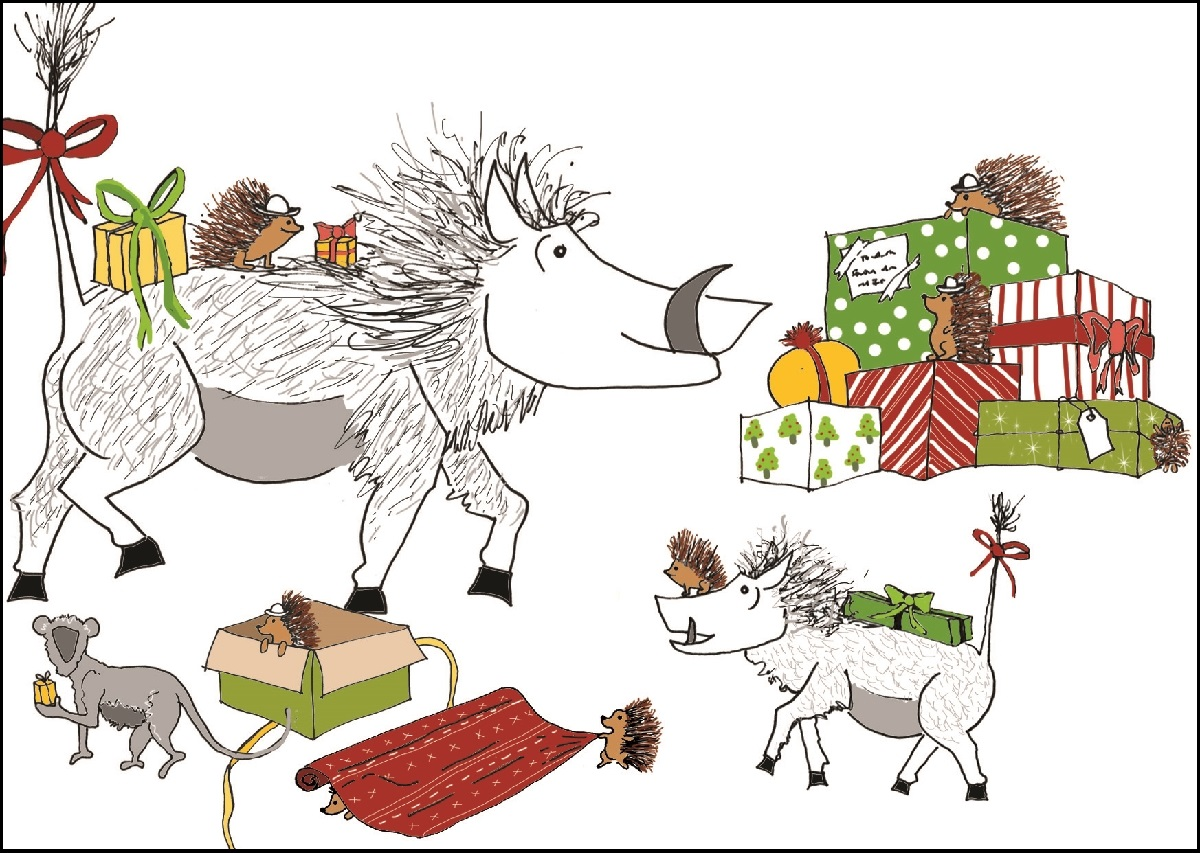 charity christmas card packs - Animal Charity Christmas Cards