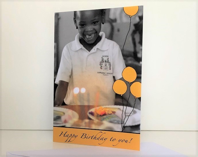 SOS Africa Charity Birthday Cards
