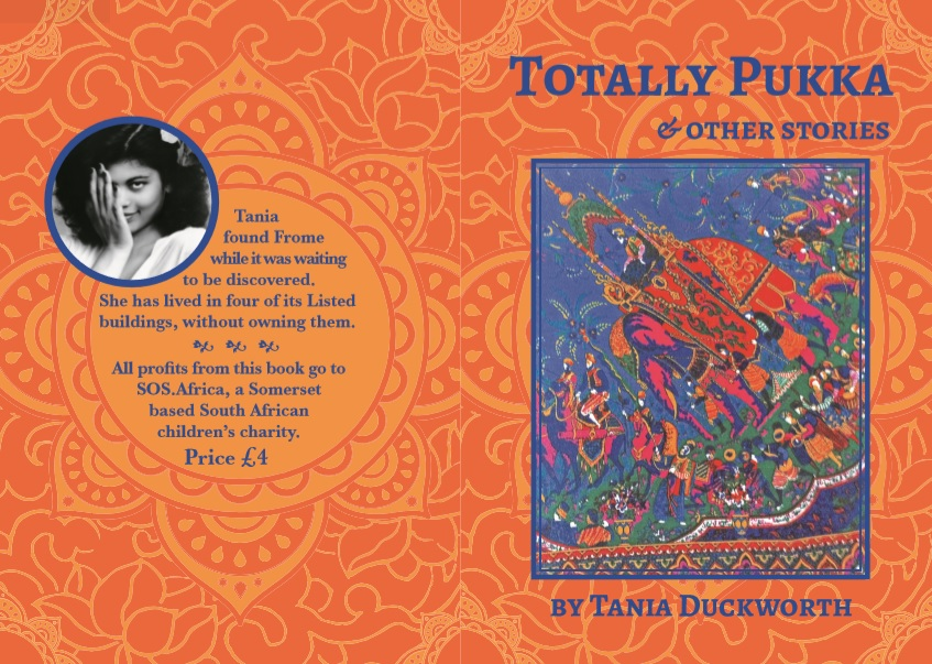 """Totally Pukka & Other Stories"" by Tania Duckworth on sale to raise funds for the SOS Africa Children"