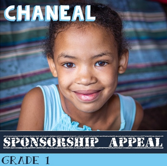 African children awaiting sponsorship: Chaneal