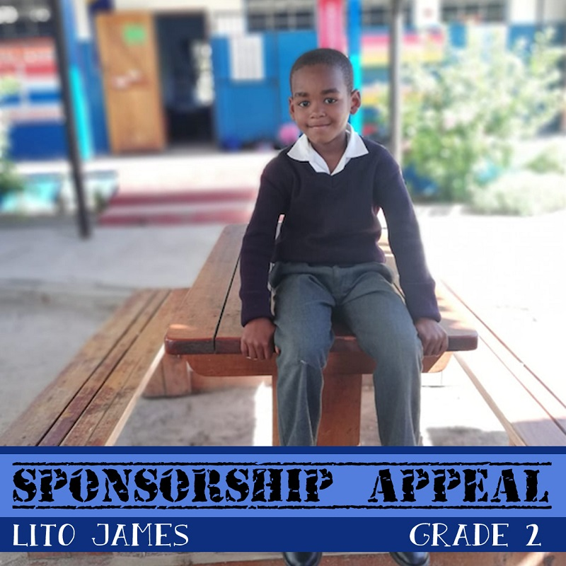 African children awaiting sponsorship: Lito