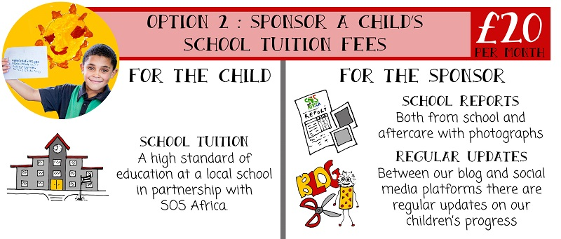 SOS Africa | Sponsor the school tuition fees of an African child