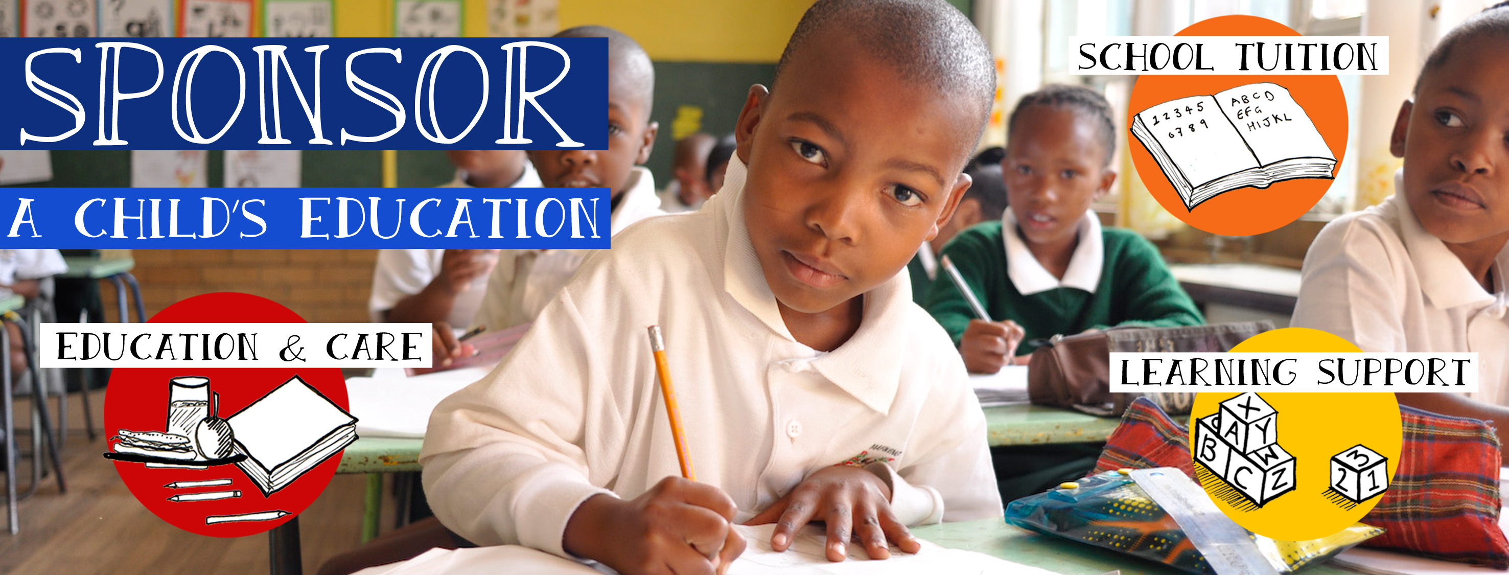 Sponsor the education of an African child | Sponsor a child in South Africa through the SOS Africa Charity