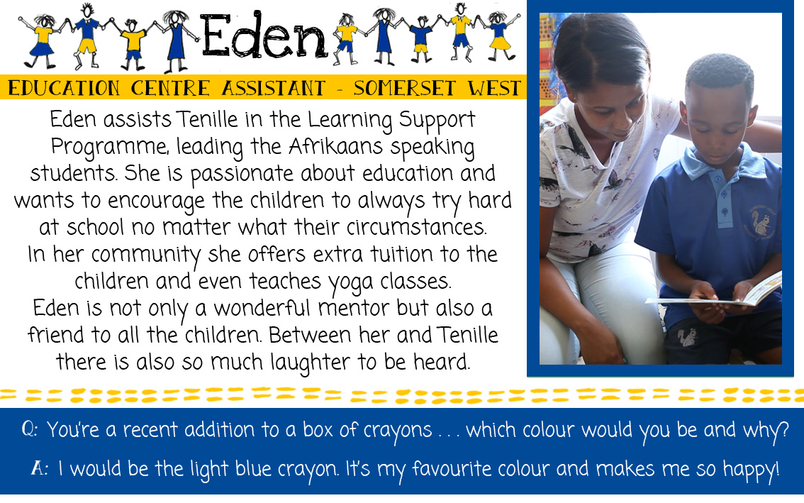 Eden: SOS Africa Somerset West, Western Cape