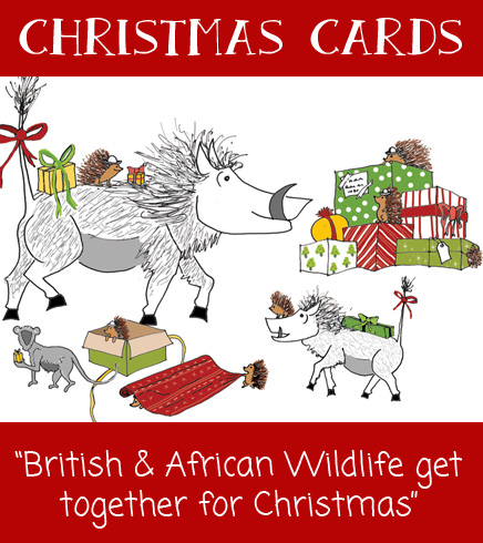 African Charity Christmas Cards